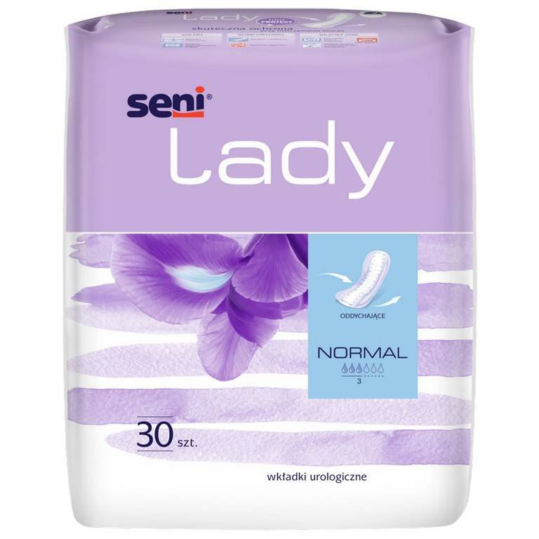 Wkładki urologiczne Seni Lady Normal 30 SZT